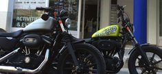 Hire a Harley Davidson from 50€.  Contact us.   www.bastards-shop.com  #bastards #bastardsbcn #harleydavidson #hire #rental #tours #barcelona #sitges #bobber #chopper #summer #goodtimes #goodfriends #squadgoals #squadgoalz #enjoy #sportster #iron883