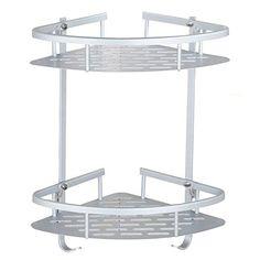 CWJ Stainless Steel Kitchen Spice Rack Storage Rack Multifunctional Sink Tableware Drain Shelf Table Storage Shelf,3 Layes,Large