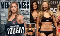 Ronda Rousey first woman to grace cover of Australian Men\'s Fitness