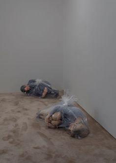"""Josh Kline """"Unemployment"""" at 47 Canal, New York, 2016"""