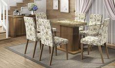 Sala de Jantar com 6 lugares. Clique na imagem para saber mais.