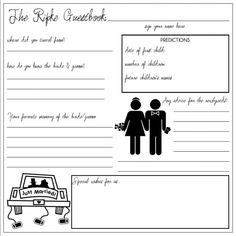 guest book template free