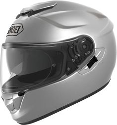 Shoei GT-Air Light Silver.  Info: http://www.shoei-europe.com/it/products/GT-AIR/