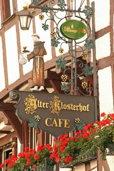 Signs of all Kinds Street Sign - Bernkastel, Germany Restaurant Signs, Pub Signs, Storefront Signage, Metal Signage, Sign O' The Times, Cafe Sign, Sculpture Metal, Café Bar, Business Signs