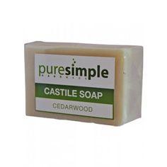 Deals on Pure Simple Cedarwood Castile Soap Pure Simple, Castile Soap, Bath, Pure Products, Shower, Collection, Rain Shower Heads, Bathing, Showers