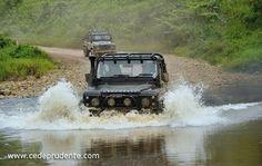 4WD adventure in Borneo  Photo: cedeprudente