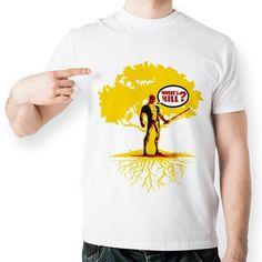 Creative Graphic Print Men's T-Shirt