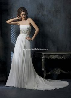 greek wedding gown elegant!  Compliments-Jacq Huang onto Wedding Gowns