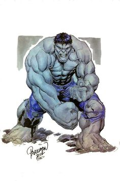 Hulk - #Hulk #Fan #Art. (Gray Hulk Smash!) By: Carlo Pagulayan. ÅWESOMENESS!!!) ...