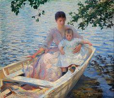 Edmund Charles Tarbell - an american Impressionist