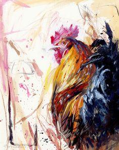 'Welsummer Cockerel' - james bartholomew