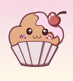 Muffins en dibujos - Imagui
