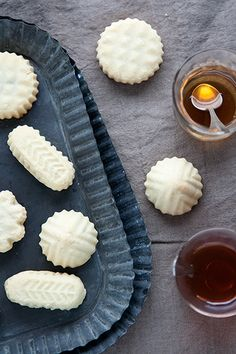 Traditional lebanese maamoul cookies, filled with delicious dates