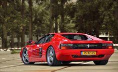 Ferrari 512 TR - So wide!
