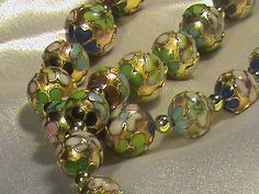 Antique Cloisonne Chinese Bead Necklace by Sacrifice4UFashions, $168.75