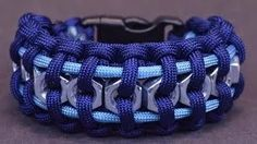 "How to Make the ""Hex Nut"" Paracord Survival Bracelet - BoredParacord - YouTube"