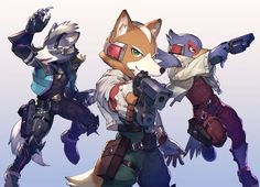 Star Fox team by koutanagamori.deviantart.com on @DeviantArt