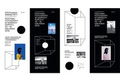 Visual identity design for a photography festival in Sopot. An event during which best photographers from Poland and around the world met and presented their work. Our studio was responsible for the design of all visual assets - from logo design, through …