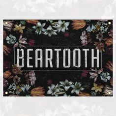 Beartooth - Floral Wall Flag