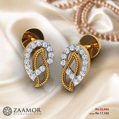 Neco Diamond Earrings #zaamordiamonds #diamondearring #diamondearrings #earrings #earring #jewellery #jewelleryearrings
