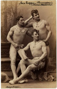 Les Luppu, vintage circus performers.