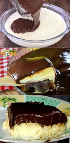 Eat and Lose Weight - Daily Healthy Food Just Desserts, Dessert Recipes, Good Food, Yummy Food, Portuguese Recipes, Recipes From Heaven, Healthy Foods To Eat, Cakes And More, Diy Food