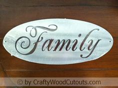 Oval Family Metal