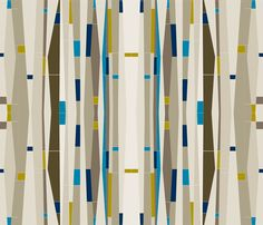 TATIANA / BLUE fabric by gmandry on Spoonflower - custom fabric