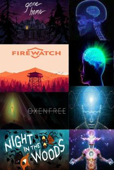 I've seen Firewatch, it's a good game. I've personally played both Oxenfree and Night in the Woods. Both games are amazing and you all should check them out. If anyone has played it, maybe lemme know if it's good! Fun Games, Games For Kids, Games To Play, Game Character, Character Design, Night School, Night In The Wood, Fanart, Video X