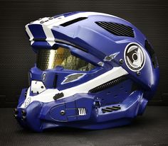 Recon Helmet - Halo 4 Cosplay. Someone needs to make motorcycle helmets that look like this
