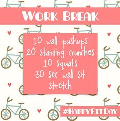 Dear Fit Girl Students and Desk Workers and anyone who needs a boost of energy ... Here's a little do-anywhere ditty! xoxo