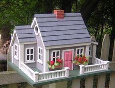 Decorative Birdhouses Beckon Spring to Return