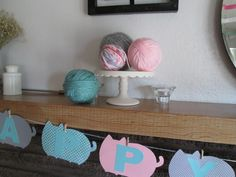 Yarn ball decorations