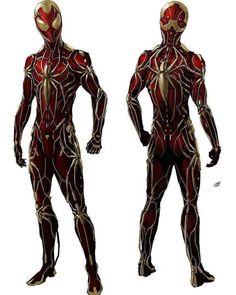 Iron Spider concept Art