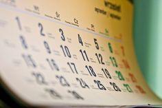 Calendarul anului doar cu noi