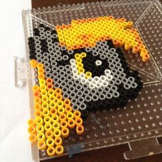 MLP Derpy Hooves perler beads by official_dashie_10
