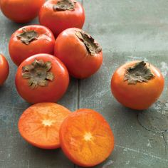 pumpkins. Whether you choose the fuyu or hachiya variety, persimmons ...