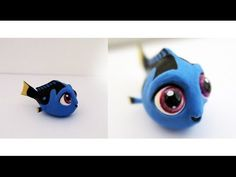 Baby Dory cold porcelain / polymer clay tutorial