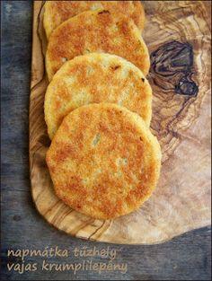 NAPMÁTKA TŰZHELY - ÉLET ÉS ÉTEL MAGYARORSZÁGON: Vajas krumplilepények