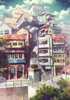 Illustrations by Chong FeiGiap :3 really like the colors
