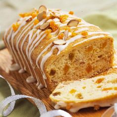 Brandied Apricot Loaves  Adding apricots is a simple solution to that nagging sweet tooth. This bread has only 141 calories per serving, even topped with a drizzling of apricot icing. @Diabetic Living