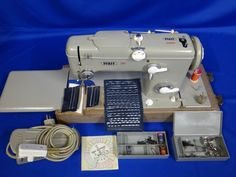 """Our """"new"""" Pfaff 260 with automatic embroidery!"""