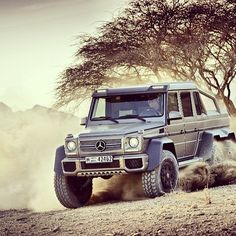 Mercedes G-Wagen 6x6, where the hell you drive that @