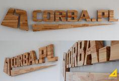 www.adstudio.pl #adstudio_pl #adstudio  #signage #design #drewno #wood #logo #logotyp #litery #identyfikacja