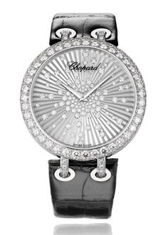 e5c5bec152a Chopard Xtravaganza white gold and diamond watch.