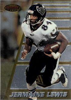 1996 Bowman's Best #171 Jermaine Lewis Front