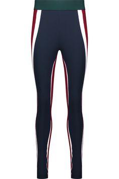 NO KA'OI Kihi Color-Block Paneled Stretch-Jersey Leggings. #nokaoi #cloth #leggings