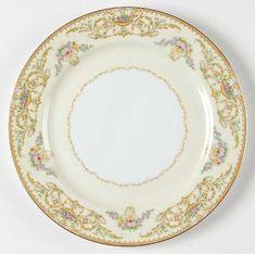 NORITAKE china FISH pattern 1359 Salad Plate - Set of Six (6) - 7-1 ...