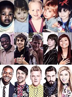 Pentatonix as kids Why were Mitch and Scott cuter before they got famous?!
