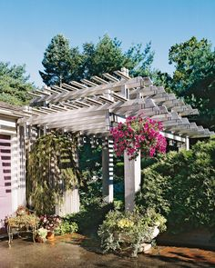 16 Attached Pergola Ideas to Boost Shade and Style Gazebo, Pergola Swing, Pergola Shade, Pergola Plans, Diy Pergola, Pergola Ideas, Arbor Ideas, Pergola Curtains, Pergola Roof